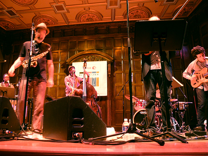 Jazz Passengers performing at the 2011 Rochester International Jazz Festival