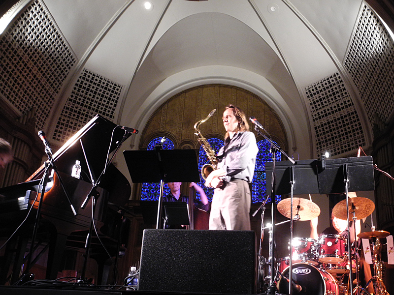 Nikolaj Hess Global Motion performing at the 2011 Rochester International Jazz Festival