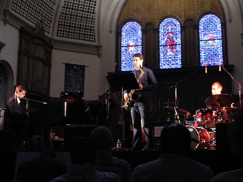 Mika Pohjola Quintet performing at the 2011 Rochester International Jazz Festival