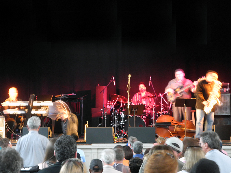 Rick Braun performing at the 2011 Rochester International Jazz Festival