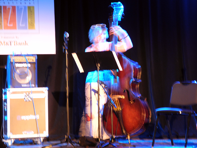 Paula Gardiner / Huw Warren Duo performing at the 2011 Rochester International Jazz Festival