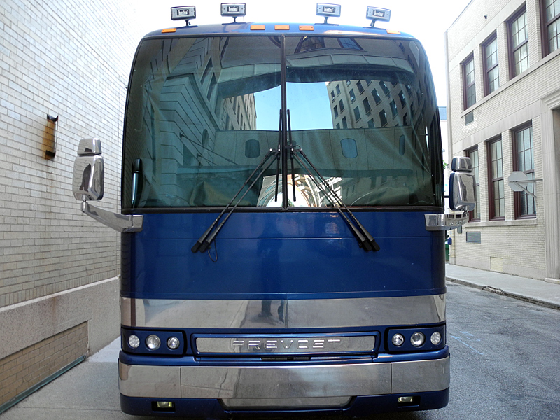 Bela Fleck bus at the 2011 Rochester International Jazz Festival