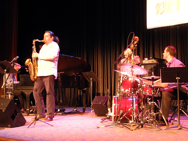 Jovino Santos Neto performing at the 2011 Rochester International Jazz Festival