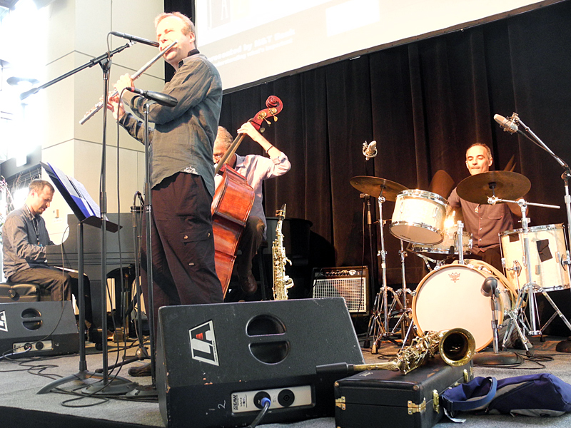 Many Worlds with Greg Burk performing at the 2011 Rochester International Jazz Festival