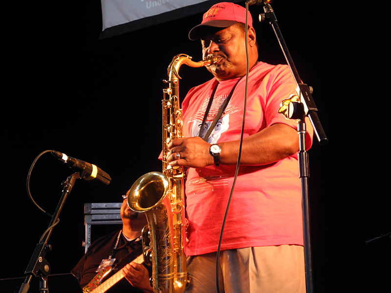 Peewee Elis performing at the 2011 Rochester International Jazz Festival