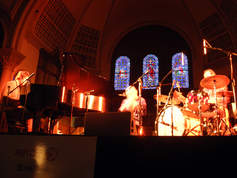 Ounaskari Mikkonen Jorgensen performing at the 2011 Rochester International Jazz Festival