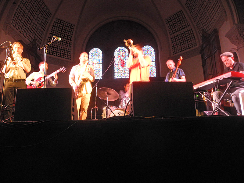 Subtropic performing at the 2012 Rochester International Jazz Festival