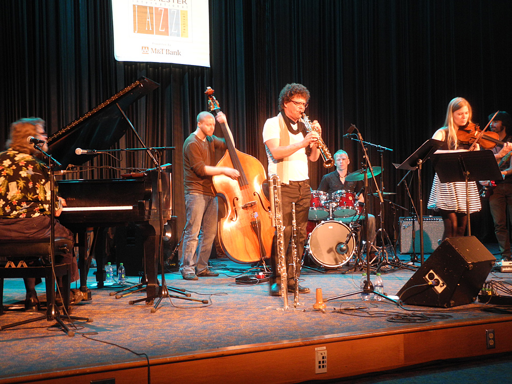 Yggdrasil performing at the 2012 Rochester International Jazz Festival