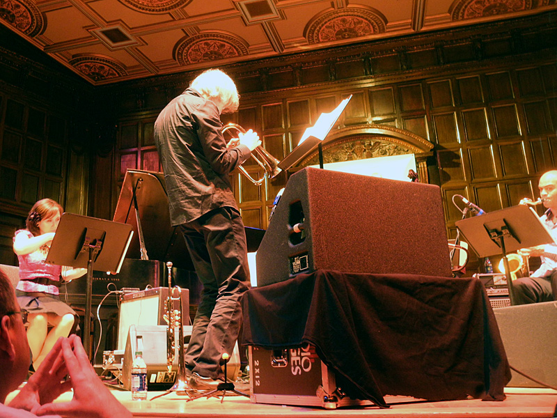 Tom Harrell performing at the 2012 Rochester International Jazz Festival