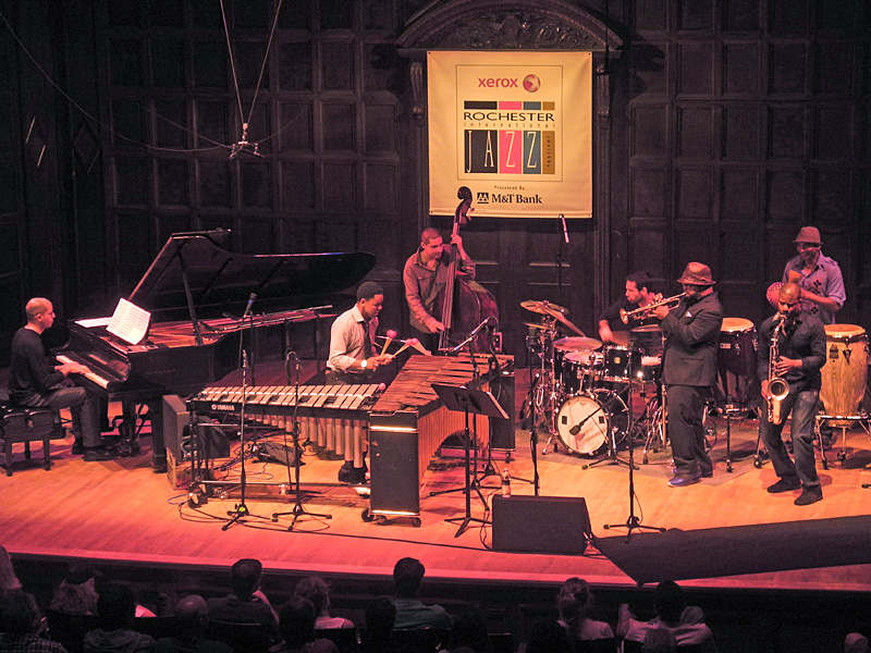 Ninety Miles performing at the 2012 Rochester International Jazz Festival