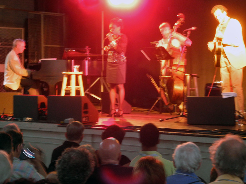 Catherine Russell performing at the 2012 Rochester International Jazz Festival