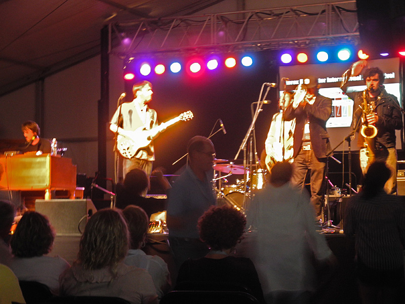 Monophonics performing at the 2012 Rochester International Jazz Festival