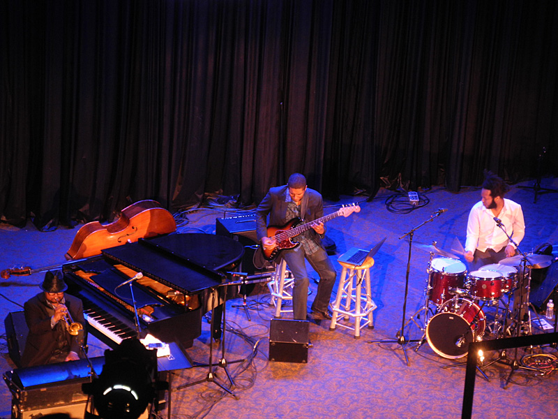 Nicholas Peyton performing at the 2012 Rochester International Jazz Festival
