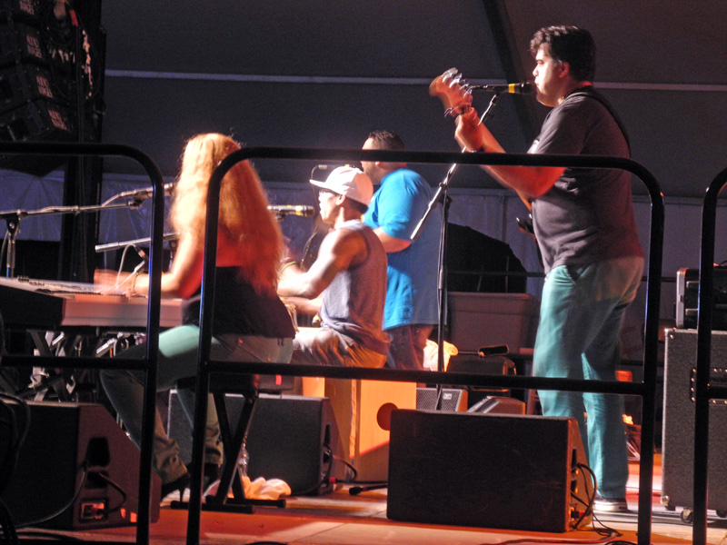 Pedrito Martinez Group performing at the 2012 Rochester International Jazz Festival