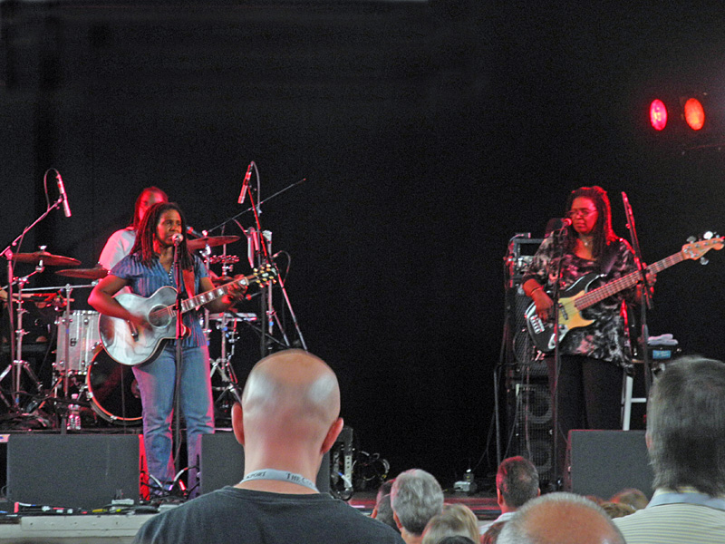 Ruthie Foster performing at the 2012 Rochester International Jazz Festival