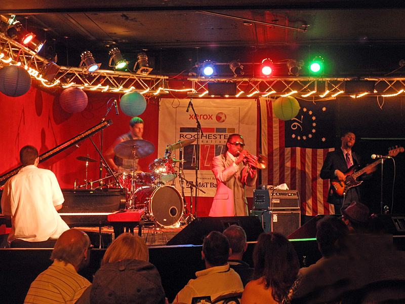 The Abney Effect performing at the 2012 Rochester International Jazz Festival