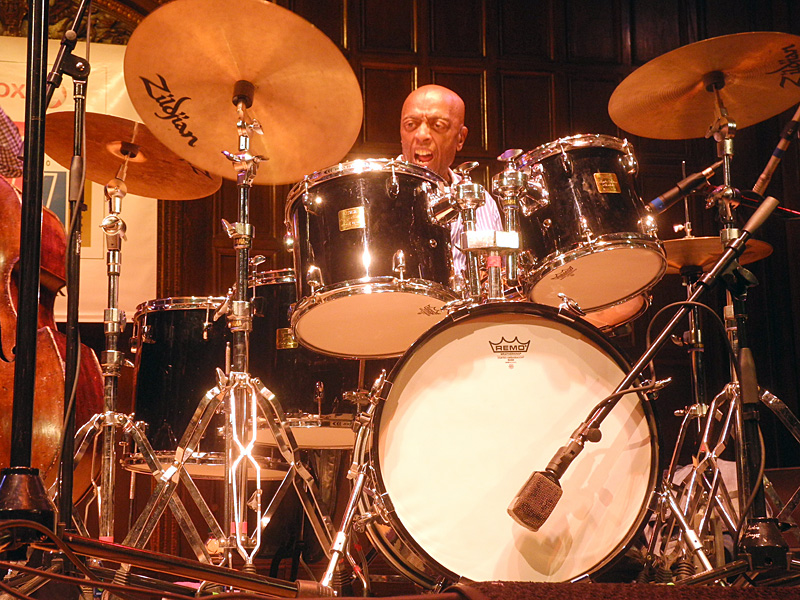 Roy Haynes performing at the 2012 Rochester International Jazz Festival