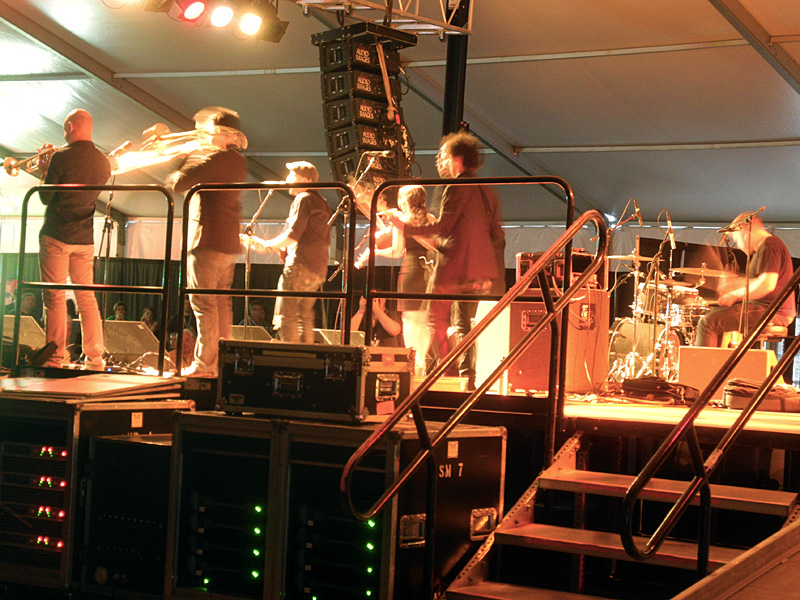 Locarno performing at the 2012 Rochester International Jazz Festival
