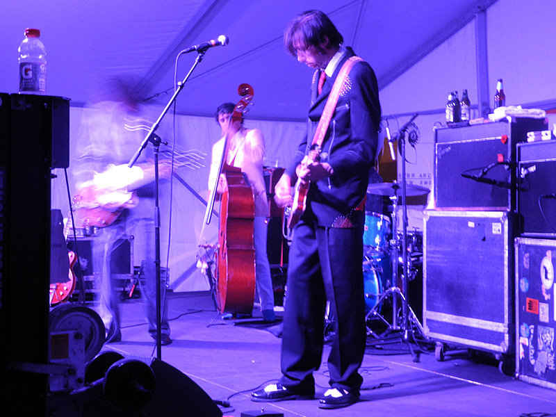 The Sadies performing at the 2012 Rochester International Jazz Festival
