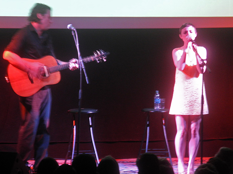 Kat Edmundson performing at the 2013 Rochester International Jazz Festival