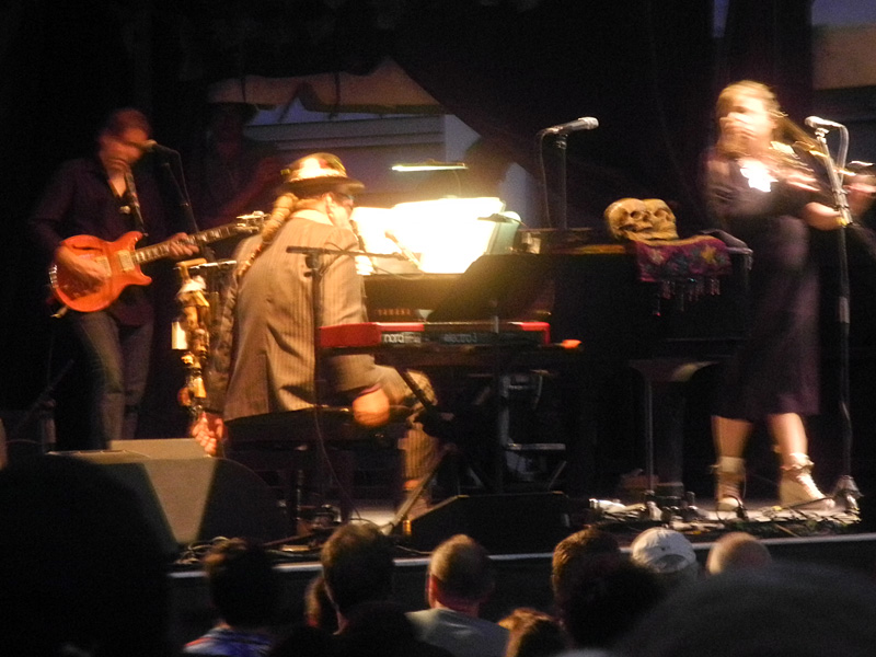 Dr. John performing at the 2013 Rochester International Jazz Festival