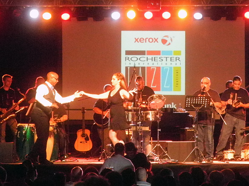 Ritmo Seis performing at the 2013 Rochester International Jazz Festival