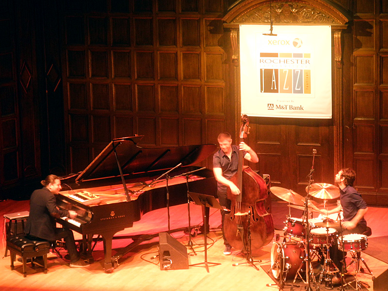 Alfredo Rodriguez Trio performing at the 2013 Rochester International Jazz Festival