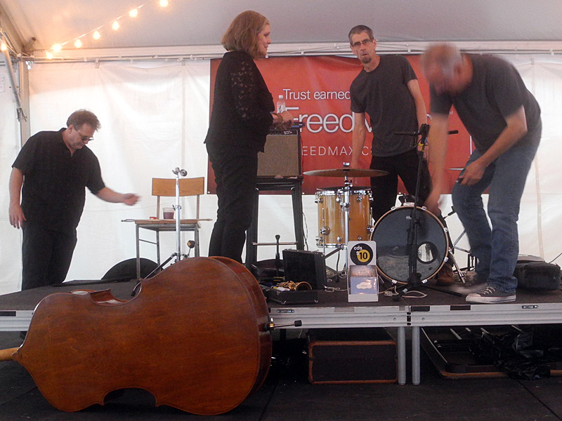 Margaret Explosion performing at the 2013 Rochester International Jazz Festival