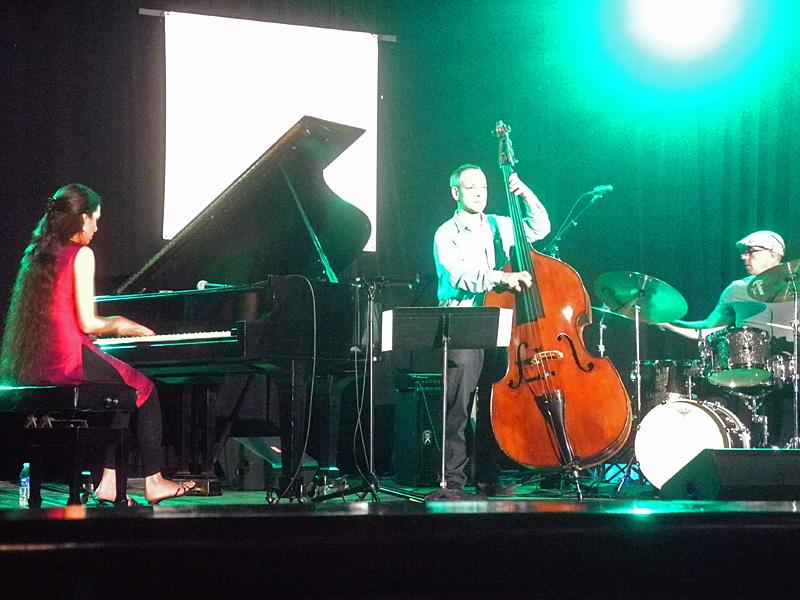 Zoe Rahman performing at the 2013 Rochester International Jazz Festival