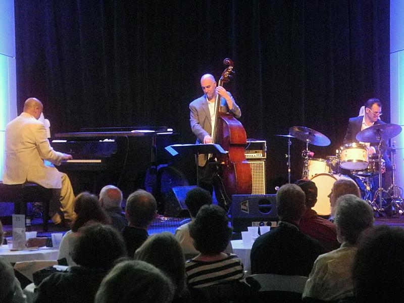 Hilario Duran Trio performing at the 2013 Rochester International Jazz Festival