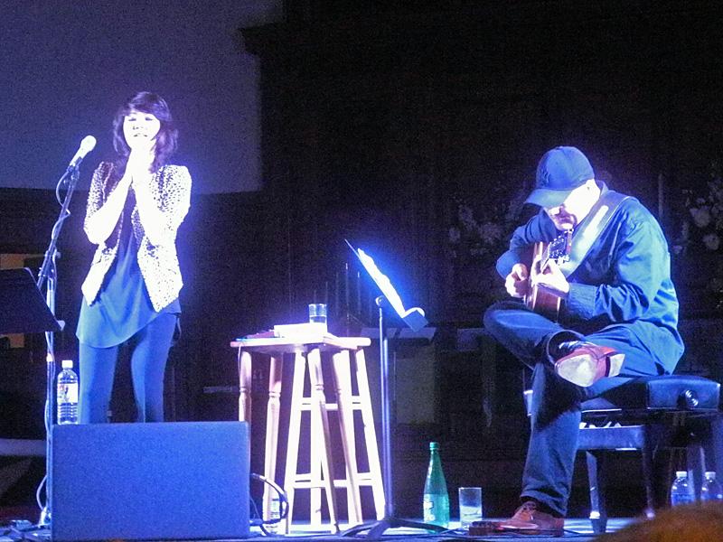 Youn Sun Nah Ulf Wakenius performing at the 2013 Rochester International Jazz Festival