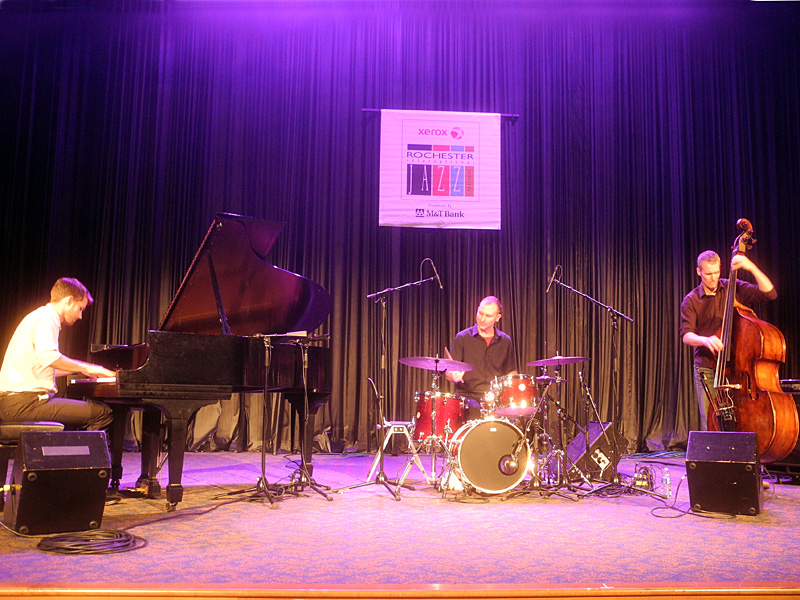 Tyson Naylor Trio performing at the 2013 Rochester International Jazz Festival
