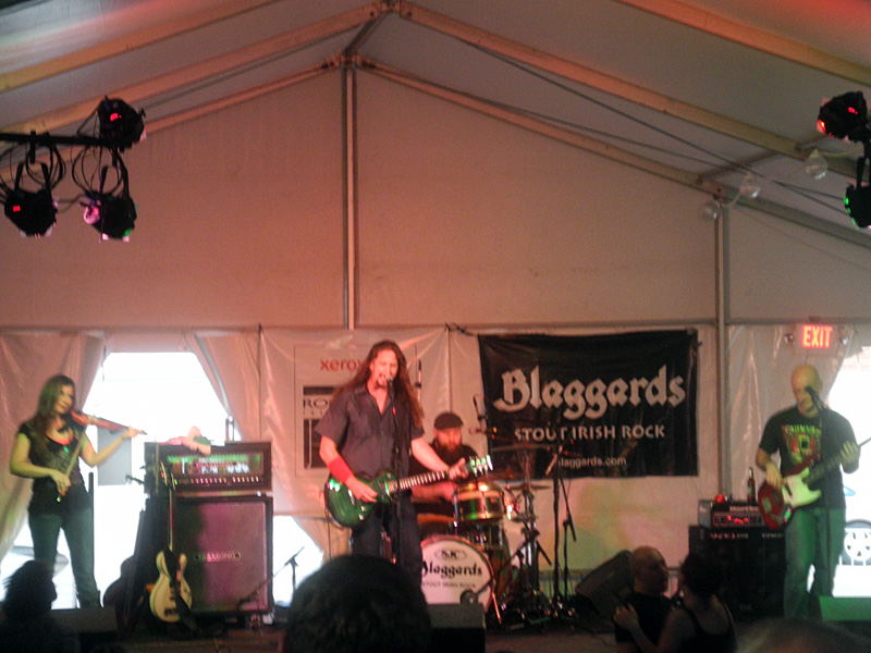 The Blaggards performing at the 2013 Rochester International Jazz Festival