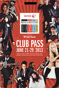 Rochester International Jazz Festival pass 2013