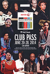 Rochester International Jazz Festival pass 2014