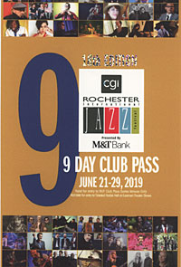 Rochester International Jazz Festival pass 2019