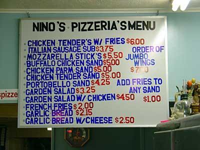 Ninos sign