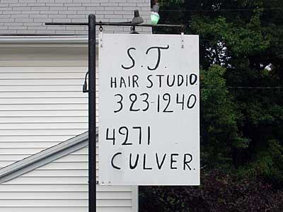 Hair Studio sign