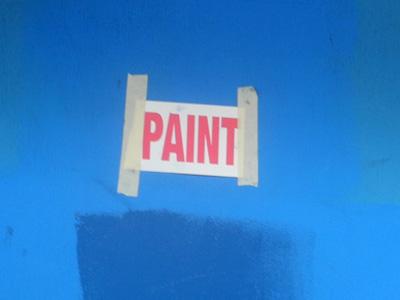 Paint Sign