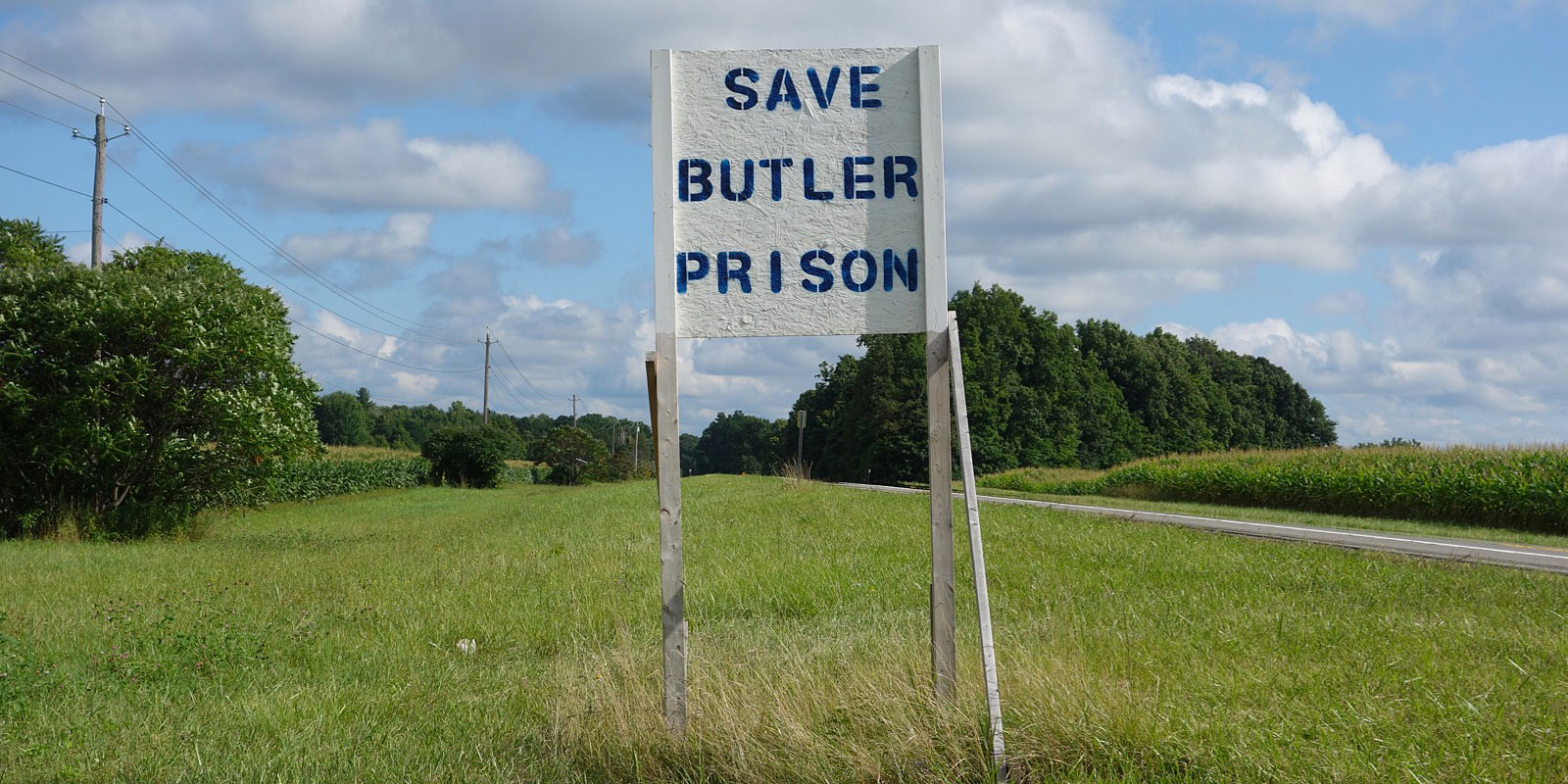 Save Butler Prison Sign for Funky Signs section of PopWars