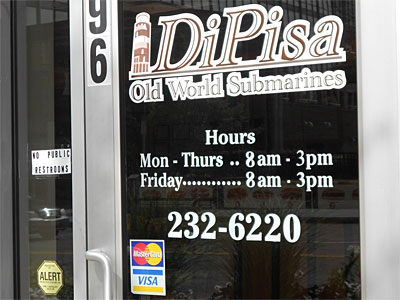 Specia lFriday Hours sign