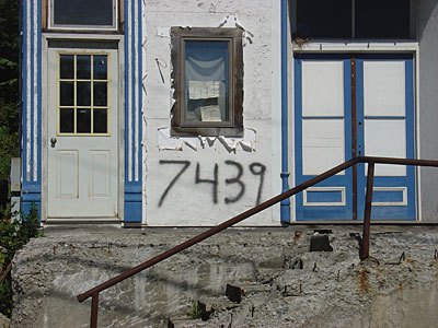 Spray Paint House Number
