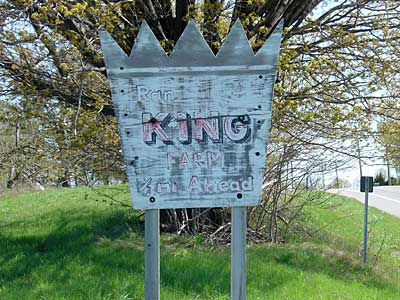The KIng sign