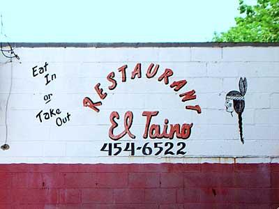 El Taino Sign