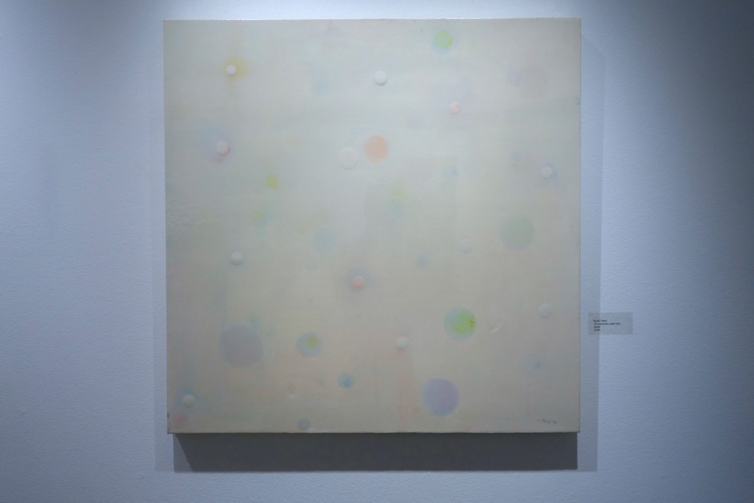"""Barely There"" painting by Barbara Mink at Geisel Gallery in Rochester, New York"