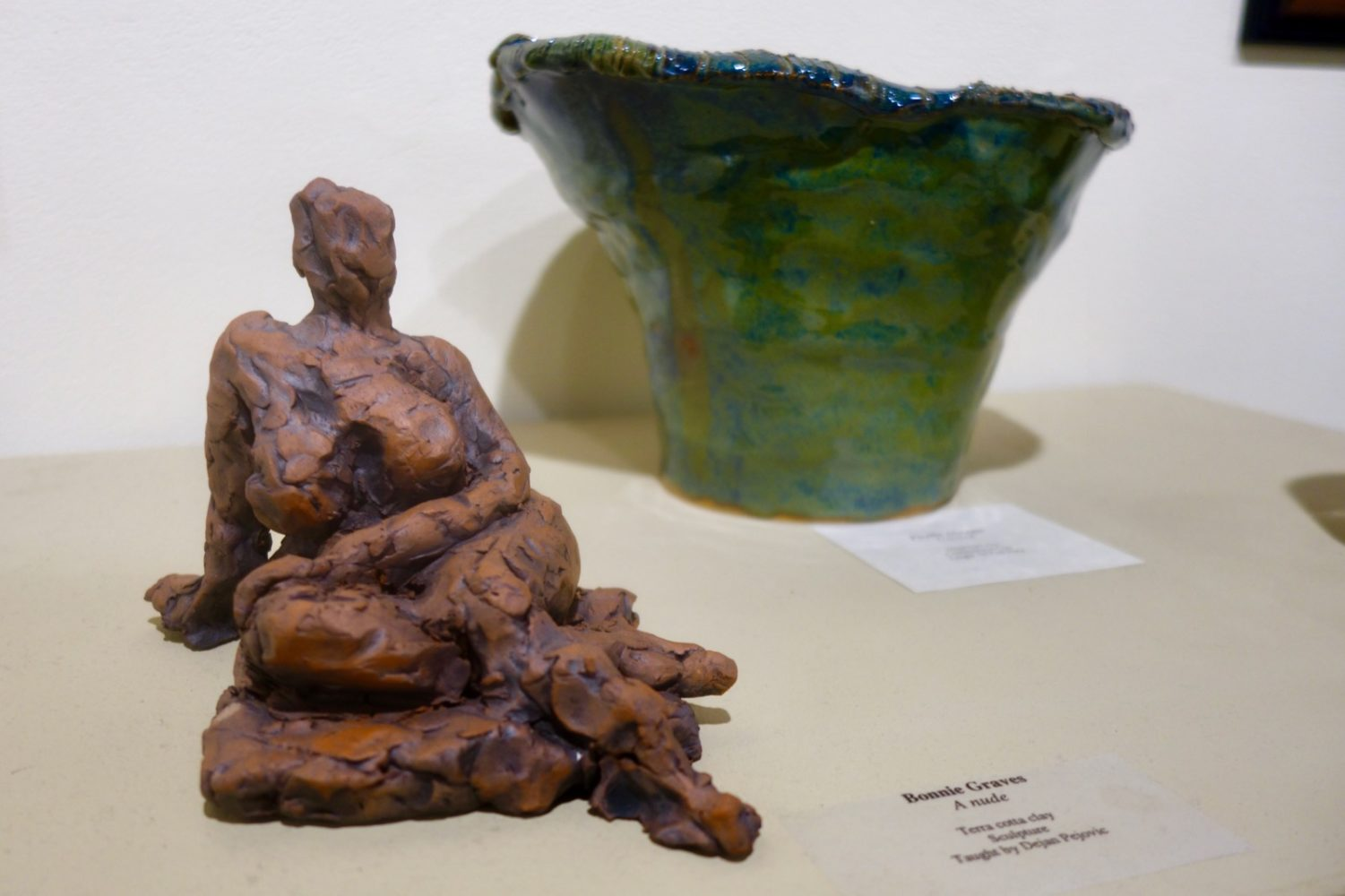 Bonnie Graves Nude Sculpture at Creative Workshop in Rochester, New York