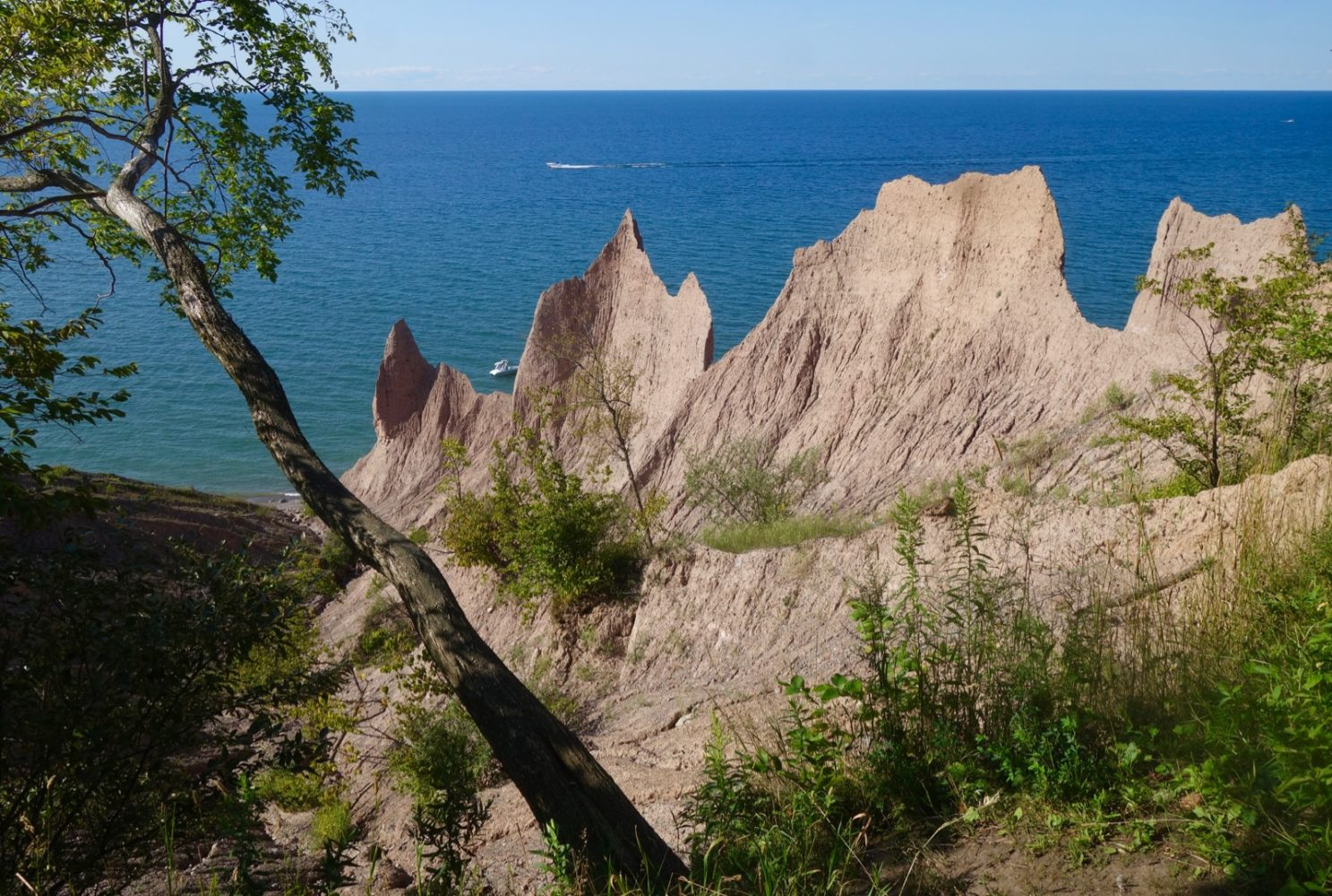 Chimney Bluffs, near Sodus Point 2019