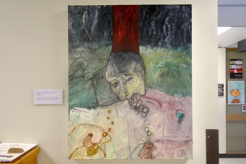 Julianna Furlong Williams Untitled Painting at Monroe Community College