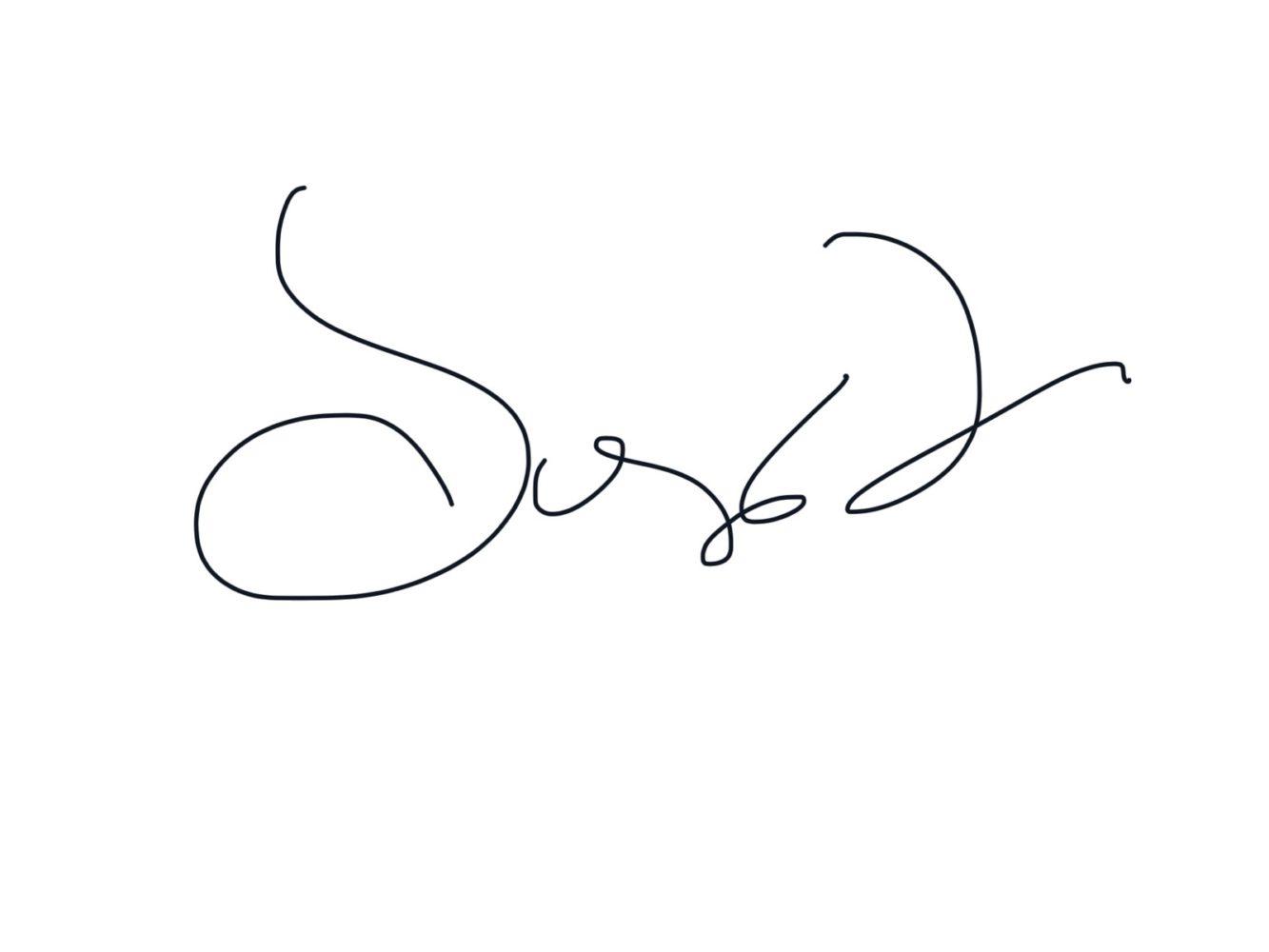 Sonya Livingston autograph