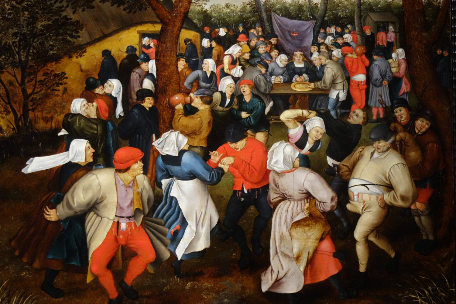 Pieter Brueghel the Younger's painting Wedding Dance in the Open Air at Palacio de Gaviria